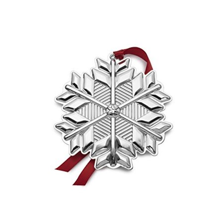 Gorham 2017 Sterling Silver Snowflake Ornament, 48th Edition