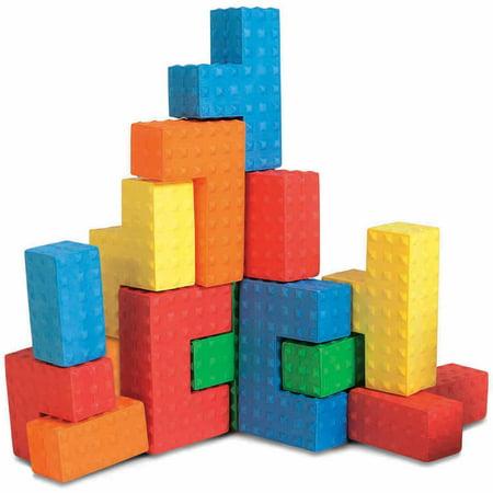 Edushape Educolor Blocks - Sensory Puzzle Blocks