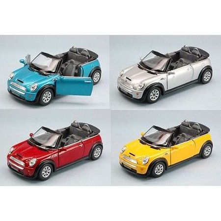 John Cooper Works Mini Cooper S (Kinsmart Set of 4: 5
