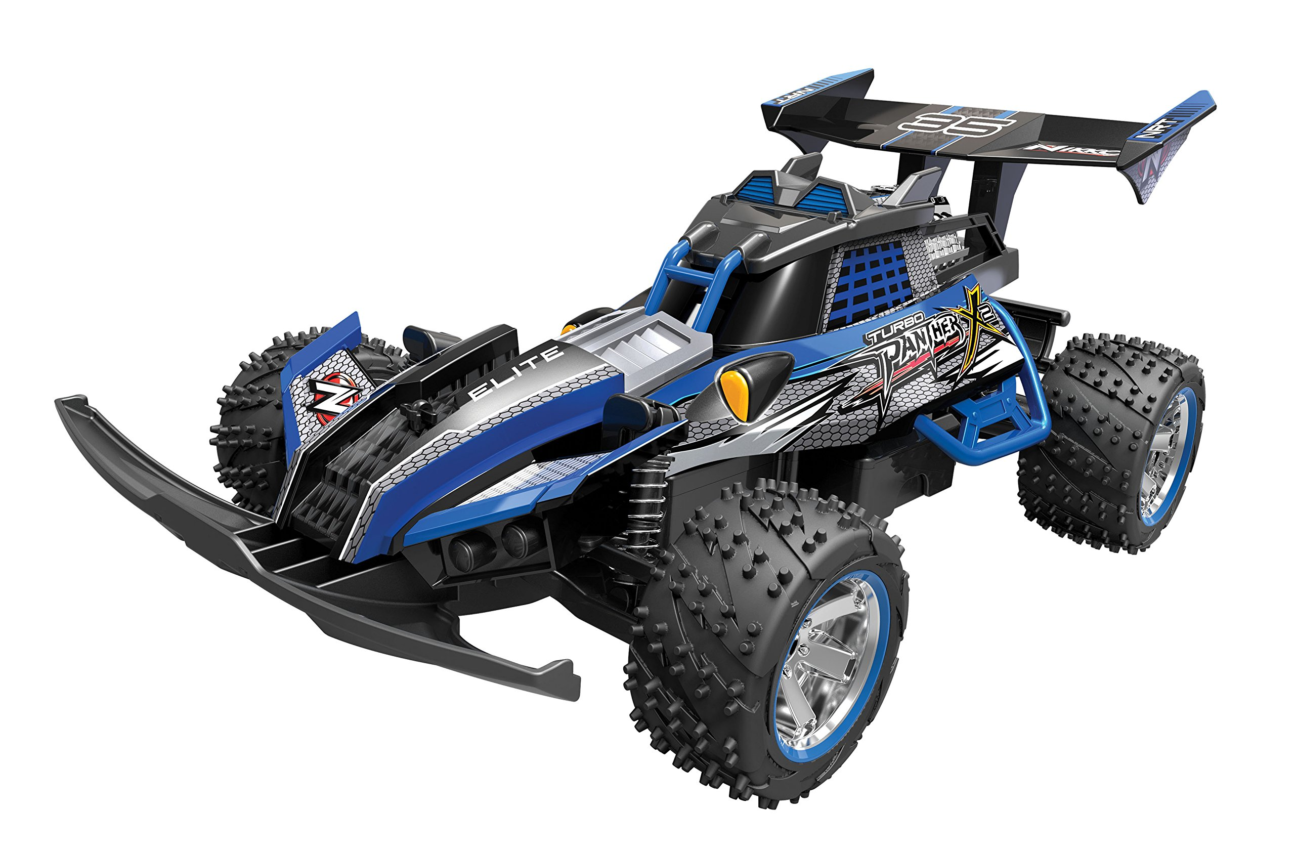 Toy State Nikko Turbo Panther X2 Blue 1:10 Scale Radio Control (FFP) Vehicle by
