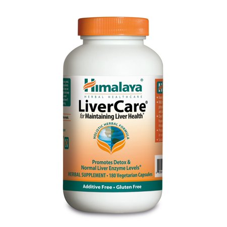 Himalaya Herbals LiverCare for Liver Detox, 375mg, 180 Ct