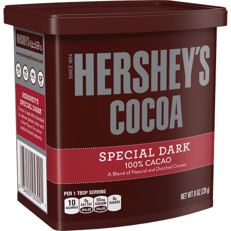 (2 Pack) Hershey's, Special Dark Cocoa, 8 - Hot Cocoa Gift Ideas