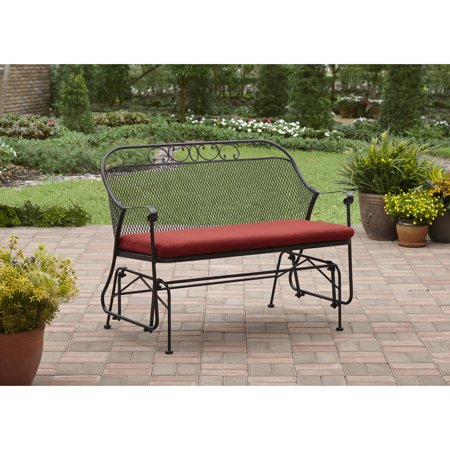 Better Homes And Gardens Clayton Court Outdoor Glider Red