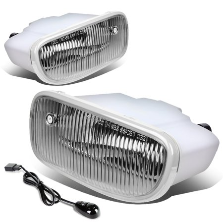 For 99-04 Jeep Grand Cherokee WJ Pair of Driving Fog Light + Wiring on