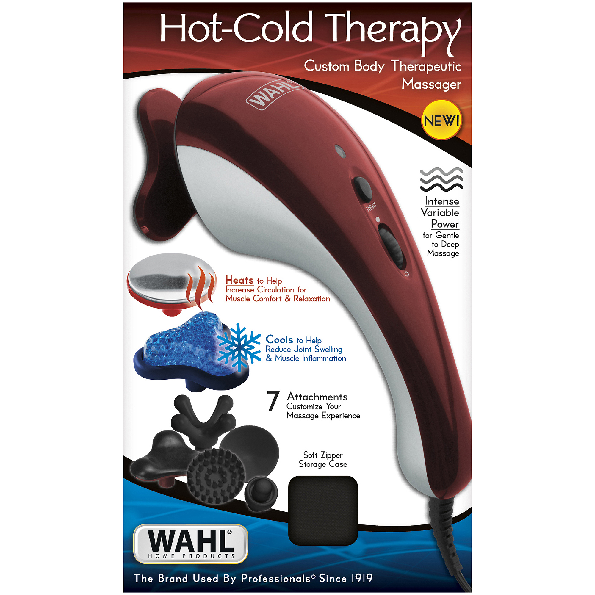 Wahl Hot-Cold Therapy Custom Body Therapeutic Massager