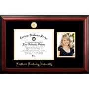 Northern Kentucky University 11w x 8.5h Gold Embossed Diploma Frame with 5 x7 Portrait