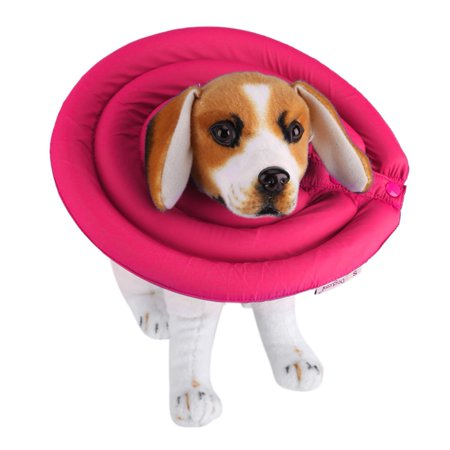 3/8 Premium Pet Collar (Ymiko Pet Recovery Collar E Cone Collars For Dog Cat Healing Protective Collar, No Scratching, Biting and Licking 3 Sizes )