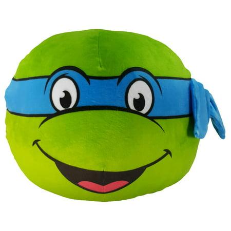Nickelodeon Teenage Mutant Ninja Turtles Ultra-Stretch 3-D Cloud Pillow, Leo - Teenage Mutant Ninja Turtles Pillow Case
