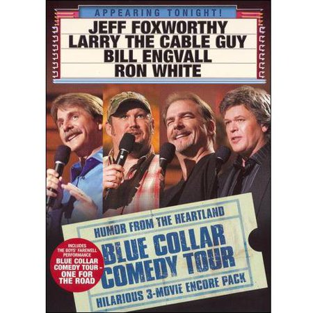 Blue Collar Comedy Tour: 3 Movie Encore Pack (Not Too Far From Home Comedy Tour)