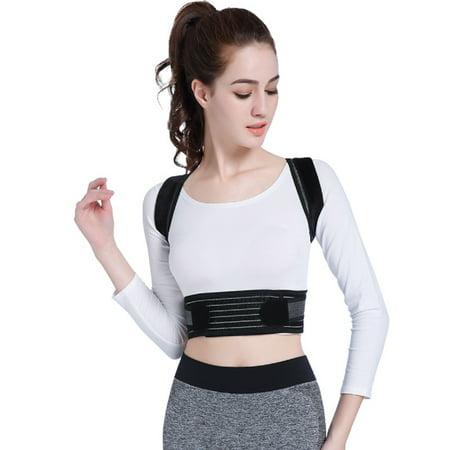 S/M/L/XL Posture Corrector Back Brace Scoliosis Humpback Correction Belt, Adjustable Comfort Invisibl e Belt, Back Humpback Kyphosis, for Man Woman Adult Students Children - image 4 de 9