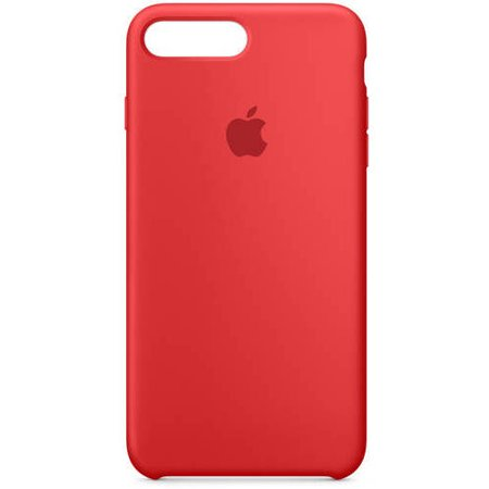 uk availability 17185 44084 Apple Silicone Case for iPhone 7 Plus - Red