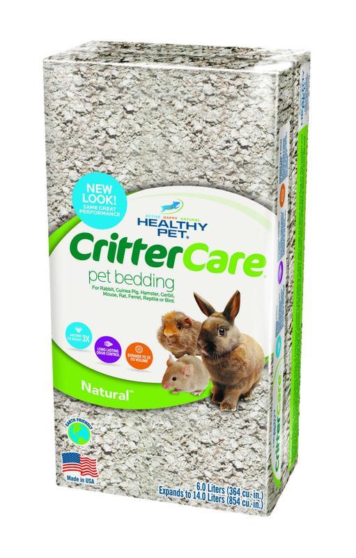 Healthy Pet CritterCare Paper Bedding, 14 L