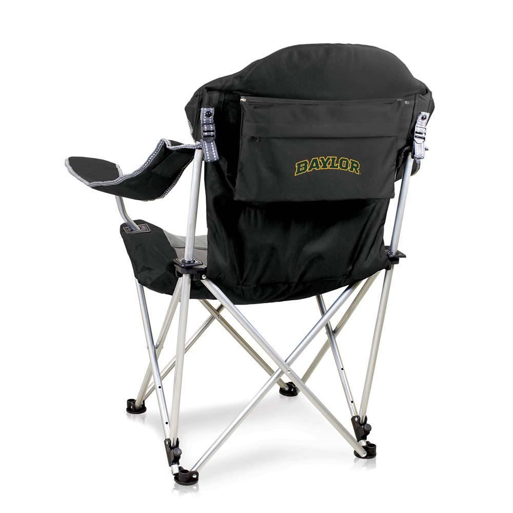 Baylor Reclining Camp Chair (Black)