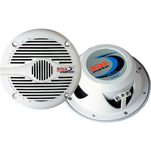 "Boss 200W 6-1/2"" 2-Way Marine Speaker"