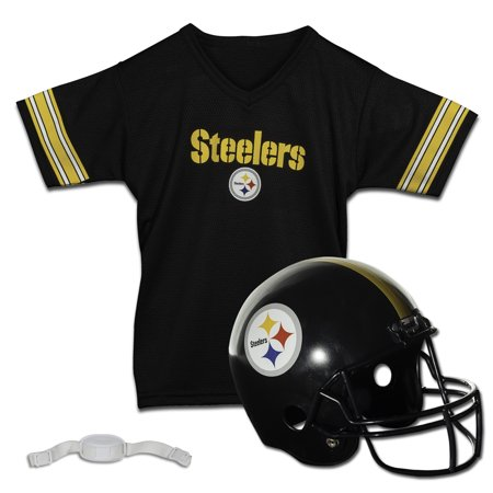 Franklin Sports NFL Pittsburgh Steelers Team Licensed Helmet Jersey