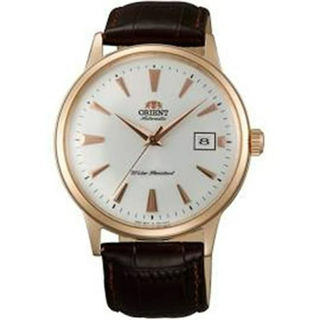 - Orient FAC00002W0 Mens 2nd Generation Bambino Automatic Brown Leather Band Watch