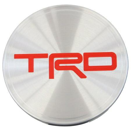 Genuine Toyota Accessories TRD Center Cap PTR18-35092 (Genuine Toyota Hood)