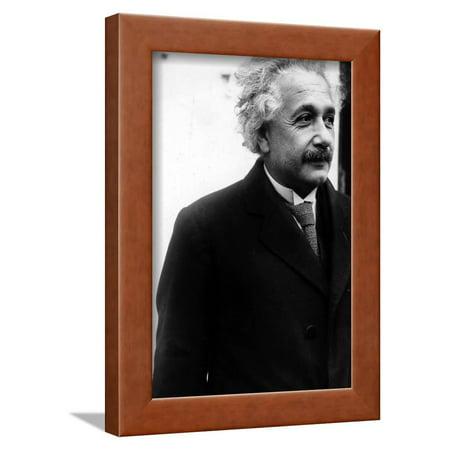 Albert Einstein Framed Print Wall Art By Globe Photos LLC - Walmart.com