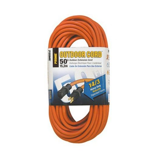 prime wire cable 771626 heavy duty outdoor extension cord 50 orange walmart