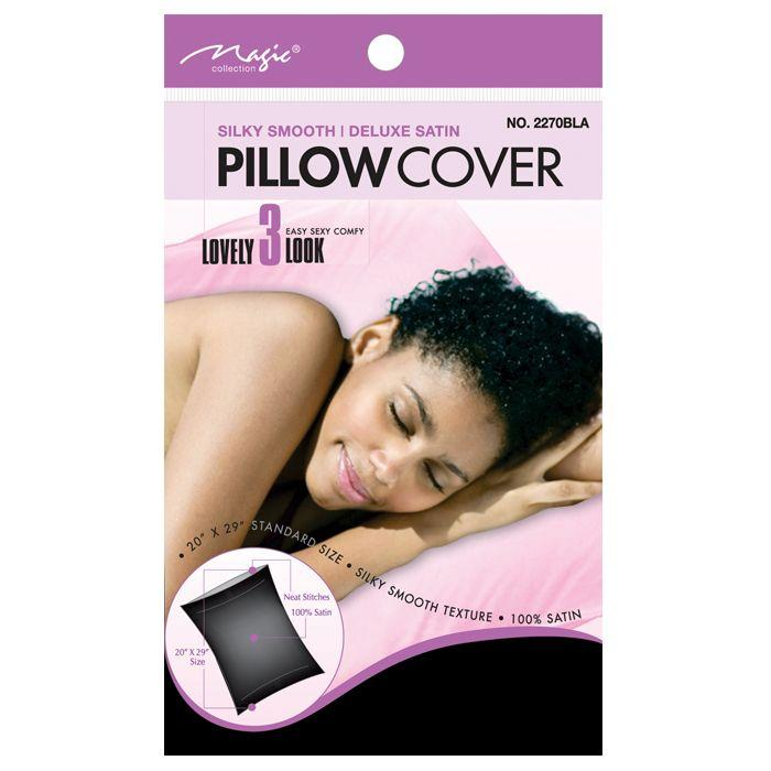 Magic Collection Satin Pillow - Noir - Noir - image 1 de 1