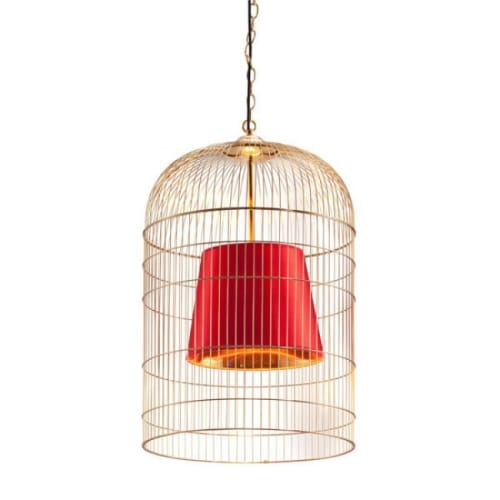 "Zuo Modern 50173 Sprite 12 Light 15-3/8"" Wide Cage Pendant"