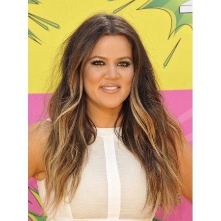 Khloe Kardashian At Arrivals For Nickelodeons Kids Choice Awards 2013   Arrivals Pt 2 Rolled Canvas Art     8 X 10