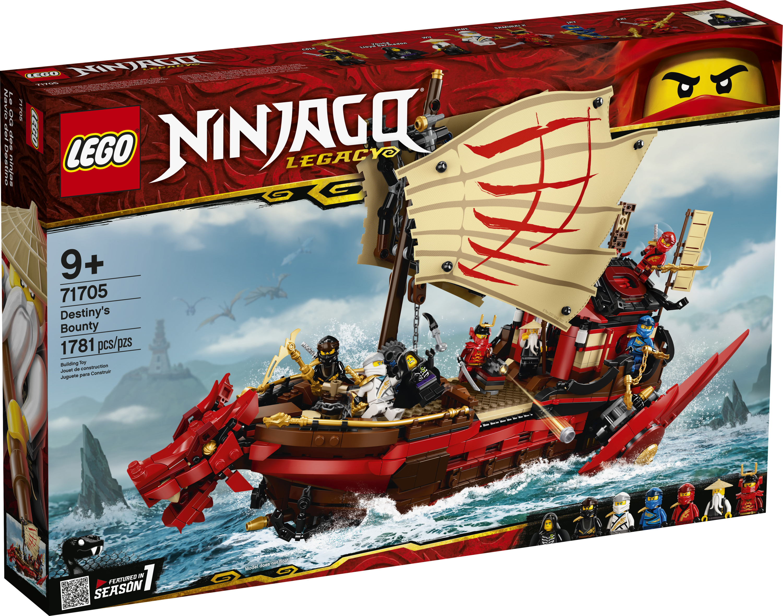 LEGO Ninjago Destiny's Bounty 25 Building Set 25,7825 Pieces