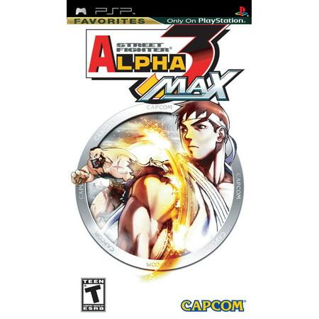 Image of Street fighter Alpha Max (PSP)
