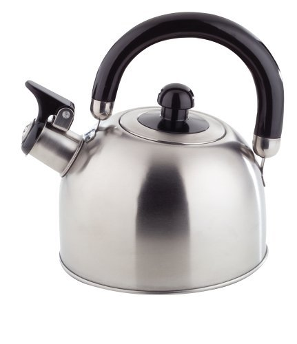 ROYAL TEA KETTLE - 2 Liter STAINLESS STEEL Stovetop Whistling Kettle