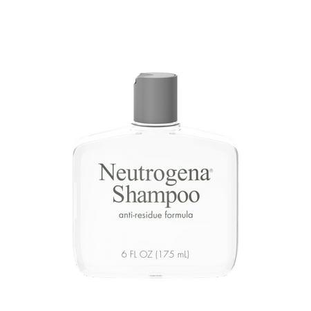 Neutrogena Anti-Residue Gentle Clarifying Shampoo, 6 fl.