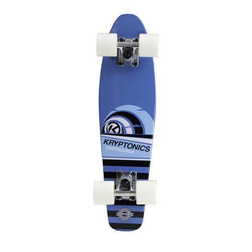 Bravo Sports Kryptonics Wood Torpedo 22.5'' Complete Skateboard