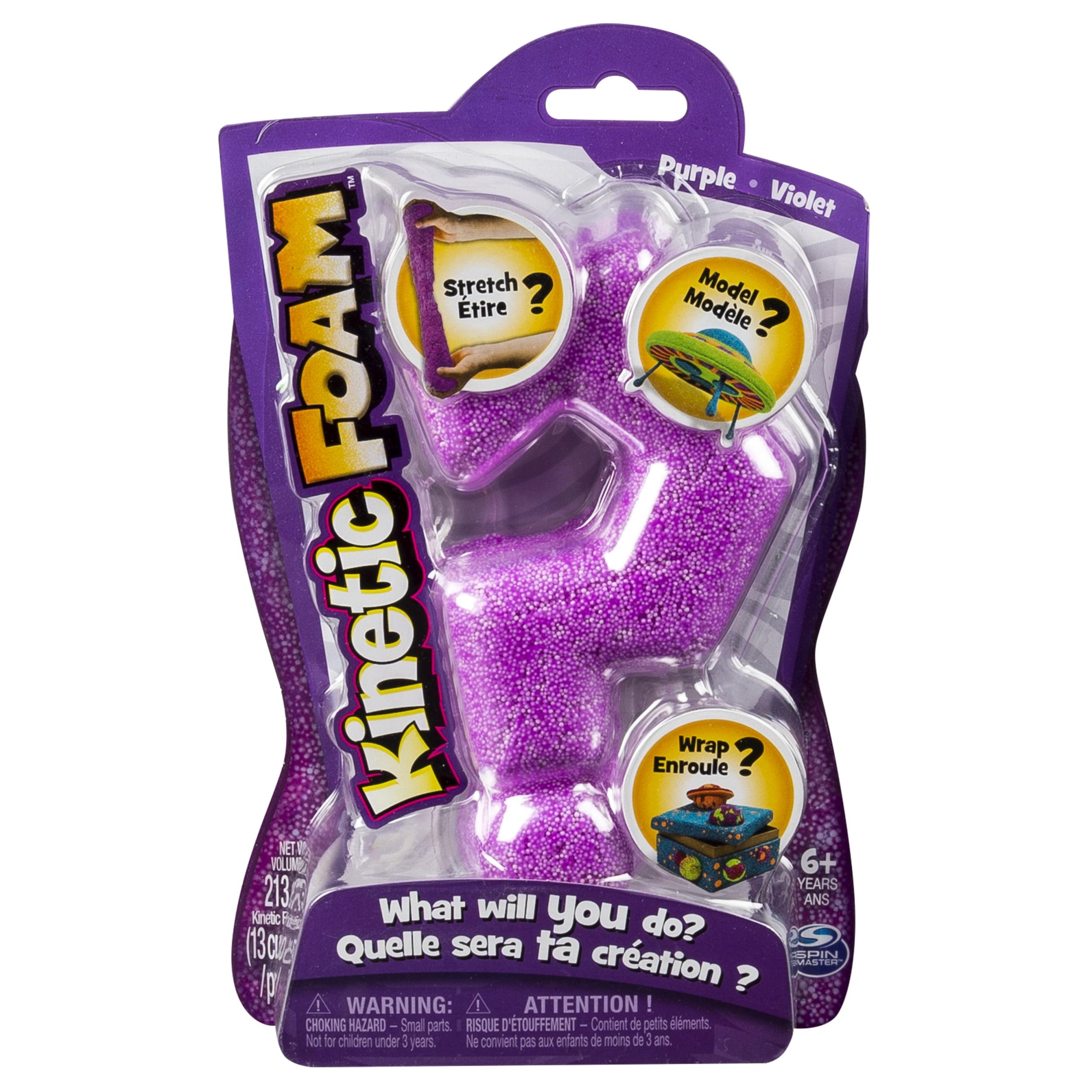 Kinetic Foam, Single Pack, Purple