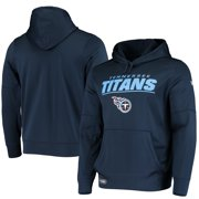 Tennessee Titans New Era Combine Stated Pullover Hoodie - Navy