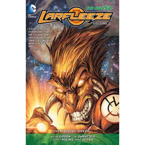 Larfleeze 2: The Face of Greed