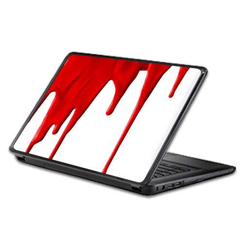 MightySkins Protective Vinyl Skin Decal Wrap for Universal Laptop Apple Asus Acer Dell Lenovo Sony Toshiba 11 13 15 17 sticker cover Blood Drip