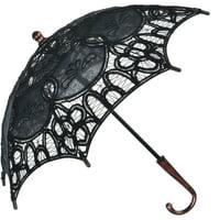 "Steampunk Umbrella Halloween Costume Accessory, 23"" D x 17 1/2"" L, by Amscan"