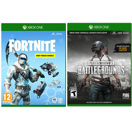 Xbox One Game Fortnite+ Battlegrounds Bundle: Enjoy Exciting Shooting and - Shooting Adventure Games