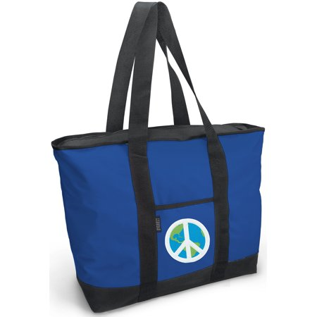 Peace Sign Tote Bag Deluxe Bags