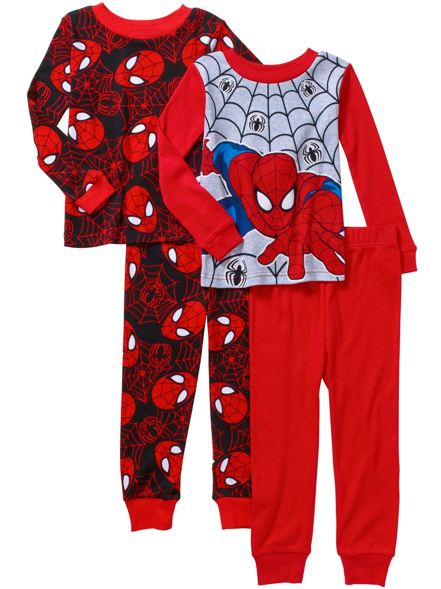 3739c9efd Spider-Man - Baby Toddler Boy Cotton Tight-Fit Pajamas