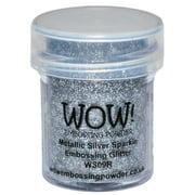 WOW! Embossing Powder 15ml-Metallic Silver Sparkle