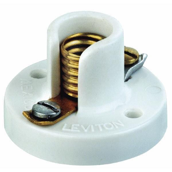 Leviton Ivory Lamp Socket