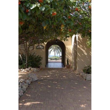 Posterazzi PDDCA04LEN0032 Archway to Pool at Tierra del Sol Golf Club & Spa Aruba Caribbean Poster Print by Lisa S. Engelbrecht