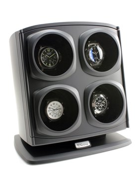 Automatic Quad Watch Winder - Black