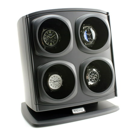 Automatic Quad Watch Winder - Black ()