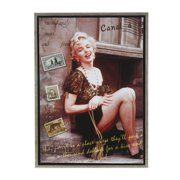 Amrita Singh Marilyn Monroe, A World Class Traveler Framed Graphic Art