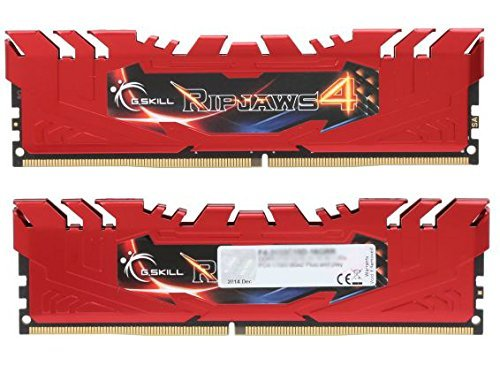 G.SKILL Ripjaws 4 Series 16GB (2 x 8GB) 288-Pin DDR4 SDRAM 2400 (PC4 19200) Memory Kit F4-2400C15D-16GRR