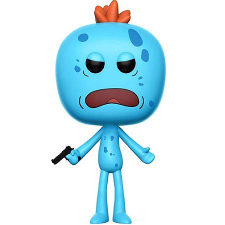 RICK AND MORTY Funko Pop! Animation Mr. Meeseeks Chase Variant Vinyl Figure (Bundled with Pop Box Protector