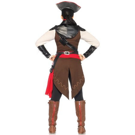 Assassin's Creed Women's 9PC.Aveline Costume](Assassin's Creed Costumes Halloween)