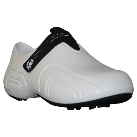Dawgs WHITE/BLACK Men's Ultralite Golf Shoes - Size 8 M/D