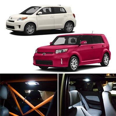 6 Piece Scion Xb Xd Interior Package Led Lights Kit 2008 2012 6000k White
